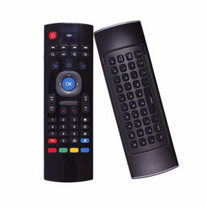 X8 MX3 Air Fly Mouse Remote Control 2.4GHz Wireless Keyboard Somatosensory IR Learning 6 Axis for S905X T95X MXQ PRO