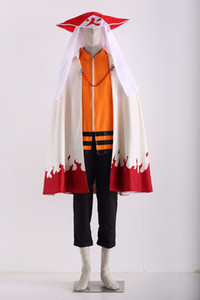 Naruto RT Naruto Uzumaki outfit Cosplay Costumes