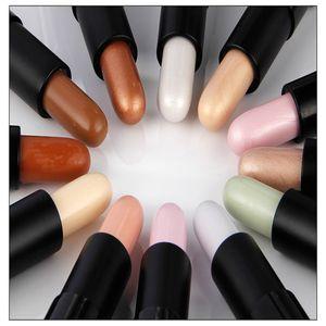 Лучшие 12 цветов макияж маскирующее длительный маскирующее палитра макияж контур Фонд крем для лица маскирующее Stick карандаш Qibest Марка