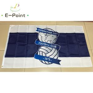 England Birmingham City FC 3 * 5ft (90 cm * 150 cm) Polyester EPL flagge Banner dekoration fliegen hausgarten flagge Festliche geschenke