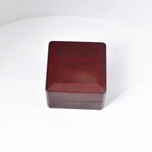 Anneau Championnat Présentoir Boîte Boîte en bois pour le championnat (bois, 1 trous) 65 ** 65 * 45mm et 50 * 65 * 65cmRed