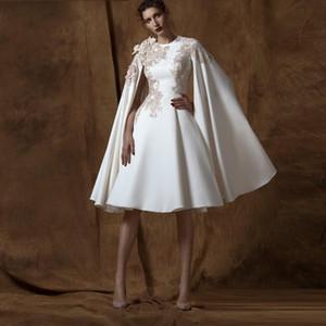 Современное колено длина линии вечерние платья экипажа шеи с длинным рукавом аппликации знаменитости платье на заказ вечерняя одежда для женщин