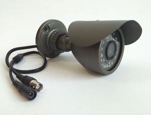 التناظرية CMOS 700TVL CCTV كاميرا مضادة للماء في الهواء الطلق / داخلي للرؤية الليلية كاميرا رصاصة المراقبة 30LED IR ضوء الأمن مع قوس