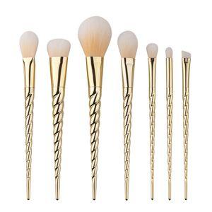 Hot MakeupTools Make up Brushes 7Pcs Professional Beauty Cosmetics Brushes Sets Free Shipping B13