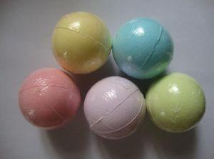 nouvelle couleur aléatoire de 40 g! Naturel bain à bulles bombe bombe boule huile essentielle spa fait à la main sels de bain boule cadeau pétillant de Noël pour elle