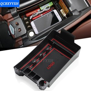 Per Buick Envision 2014-2017 LHD Car Center Console Bracciolo Storage Box Covers Decorazione d'interni Accessori auto