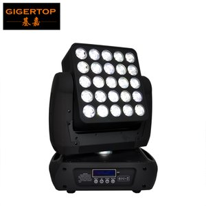 New Arrival 25x12W 4IN1 Led Matrix Moving Head Beam Light,DMX 512 RGBW Led Moving Head Beam 19 29 117 Channels 90V-240V TP-L643