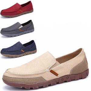 Мужская Обувь 2017 Лето Мокасины Новый Дышащий Холст Обувь Высокое Качество Повседневная Обувь Мода Свет Мужской Обувь Для Ходьбы
