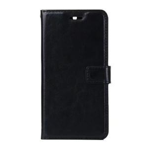 Spedizione gratuita all'ingrosso Crazy horse grain wallet PU Custodia in pelle per Samsung Galaxy J7 2017 J730 versione europea titolare della carta
