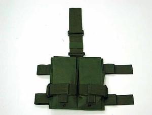 التكتيكية رخوة مزدوجة m4 5.56 ملليمتر ماج مجلة قطرة الساق لوحة فائدة الحقيبة حقيبة ل ردور لعبة الادسنس الألوان الصيد