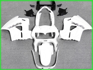 Envío gratis todo el kit de carenado blanco para 1998 1999 2000 2001 interceptor Honda VFR800RR VFR800 VFR 800 98 01