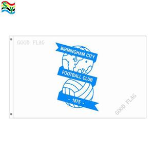 GoodFlag Kostenloser Versand Birmingham flags banner 3X5 FT 90 * 150 CM Polyster Outdoor Flagge