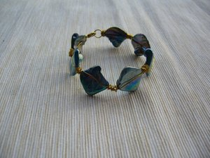 Sincerity - Healing Blue Shell Bracelets