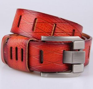 Mens Designer Belts for Suit Pants And Jeans Classic Excellent Quality Hollow Genuine Leather Belt DHL Free Drop Shipping