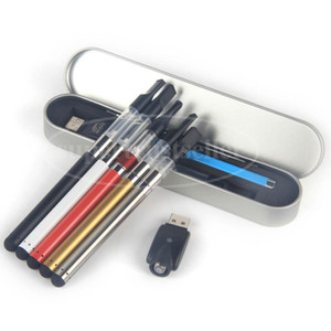 Vapes Caneta Caso BUD Touch Open CE3 Kit de Vaporizador de Atomizador de Vapor Cera Vaporizador Caneta Cartuchos Grosso Tanque E Cigarro Vapor Starter Kit