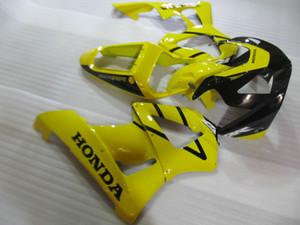Spritzguss ABS Kunststoff Verkleidungssatz für Honda CBR900RR 00 01 gelb schwarz Verkleidungssatz CBR929RR 2000 2001 OT28
