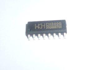 CH340G SOP-16 IC R3 مجلس الحرة كبل USB رقاقة المسلسل 10pcs / lot