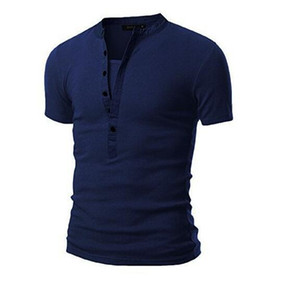 The new foreign trade 2017 men neckline stitching short sleeve T-shirt hot style jacket