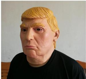 Donald Trump Latex Masken USA Präsident Kandidat Mr. Trump Halloween Maske Billionaire Präsidenten Latex Gesichtsmasken