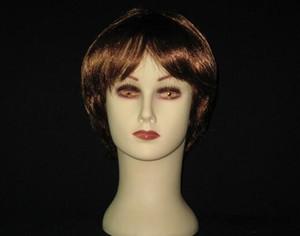 Freeshipping 1PC parrucca visualizzazione del cappello professionale parrucchieri styling head up display, capelli umani mannequin testa senza parrucca senza capelli, M00505