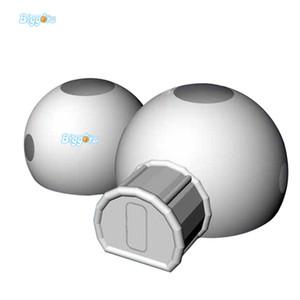 Tur İçin Tuvalet İle Yeni Tasarım PVC Malzeme Temizle Şişme Temizle Kubbe Çadır Şişme Şeffaf Balon Çadır