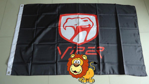viper flag for car show, viper car banner,90X150CM size,100% polyster,100% polyester
