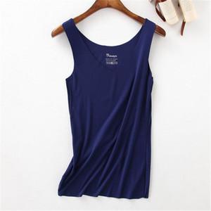 YUETONGME 2017 여성 탱크 솔리드 컬러 민소매 섹시 탑 T 셔츠 여성 패션 코튼 Tshirt 귀여운 긱 T 셔츠 여성 여름