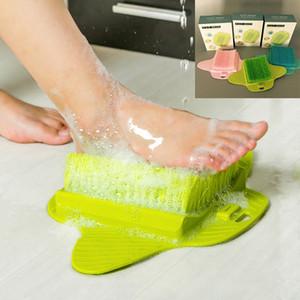 Bagno Pulisci Spazzola per pediluvio Spazzola per massaggio Scrubber Rimuovi callosità Hard Dead Ruvido Dry Skin Callus Room Tools WX-T11