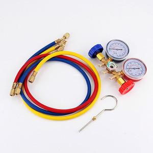 Freeshipping Refrigeração Ar Condicionado R22 R12 R502 A / C AC Diagnóstico Manifold Calibre Set