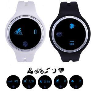 Bracelet intelligent E07 Bracelet de synchronisation Bluetooth pour Android et iOS Smart Watch Fitness Tracker Fitness Activity