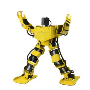 17 DOF Humanoid Robot / BiPed Dance Robot / Робот Образовательный Платформа / Пульт дистанционного управления / DIY Робот