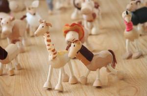 الحيوانات أستراليا Anamalz دمى الحيوانات العضوية سوبيربا خشبية الإبداعية لعبة مزرعة ألعاب تعليمية الحياة البرية