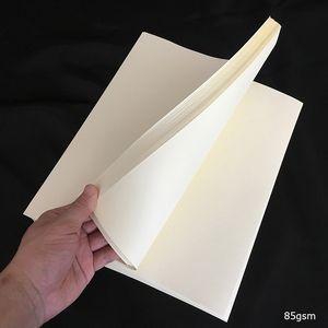 8.5in * ácido libre 11in 50 hoja de papel printinng Contrato de almidón tipos impermeables libres con marfil fbra rojo y azul o whitecolor (JQ170427)