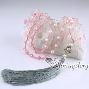 bijoux bohème de culture (collier de perles) collier boho collier de gland perlé collier long boho bijoux en ligne de perles