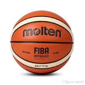 Bola de baloncesto fundida al por mayor GF7X Material de PU fundido de alta calidad Oficial Basketball7 para juego de partido Envío gratis