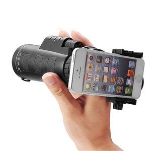 Nuovo Zoom Telescope 10x40 Escursionismo Concerto Zoom per fotocamera Obiettivo per fotocamera Obiettivo per telefono