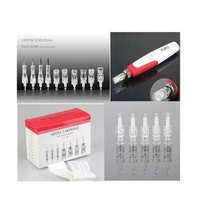 1/3/5/7/9/12/36/42 pines Needle Cartridge for Auto Derma pen Micro Needle DR. Pluma para M7 / N2 / N4
