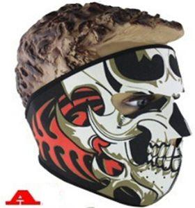 Néoprène Masque Complet En Plein Air Sport Cyclisme Masque Moto Vélo Ski Snowboard Balaclava Halloween costume fête Skull Visage Masques