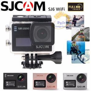 Original SJCAM SJ6 cámara de deportes WiFi 4K 24fps Ultra HD Cámara a prueba de agua Notavek 96660 Cámara de acción a prueba de agua Pantalla táctil de 2 pulgadas