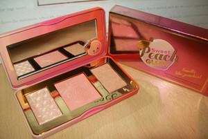 2017 Nouvelle arrivée Maquillage douce Peach Glow 3 blush couleur poudre blush DHL gratuit bateau rapide