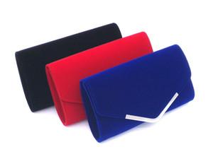 2017 novo de alta qualidade pacotes VEEVAN jantar Senhora da forma saco de mão de alta qualidade partido saco de veludo 3 cores