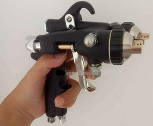 Chrome Doppelköpfe Sprayer Double Nozzle Spritzpistole für Silber Spiegel und Nano Malerei Hochdruck Air Spray Gun kostenloser Versand