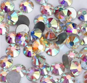 Новый горячий продажа AB кристаллы стразы Nail Art ювелирные изделия алмазы украшения ногтей поставщик для салона использования