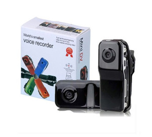 Mini DV MD80 body camera Thumb mini DVR Digital Video Recorder كاميرا صغيرة محمولة كمبيوتر كاميرا ويب كاميرا سوداء مع صندوق البيع بالتجزئة