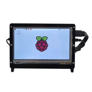 Бесплатная доставка Raspberry Pi 3 акриловый держатель поддержки акриловый чехол только для 7-дюймовый экран дисплея