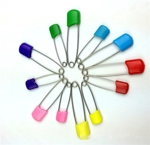 색상 안전핀 다목적 베이비 핀 아기 안전핀 아기 드레스 직물 기저귀 샤워 크래프트 핀 게임 키트 색상