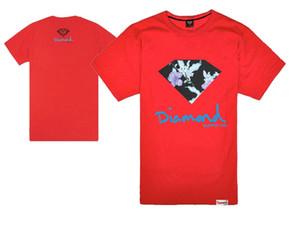 Hip hop famosas buenas nuevas camisetas recién llegadas Unique Diamond Supply Co Hombre Moda camisetas Ladrones sueltos camiseta de manga corta Camisetas