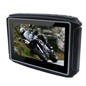 4.3-дюймовый мотоцикл GPS навигационная система Bluetooth IPX7 водонепроницаемый анти-землетрясение мотор Navi с SDRAM 256 МБ 8 ГБ Карты