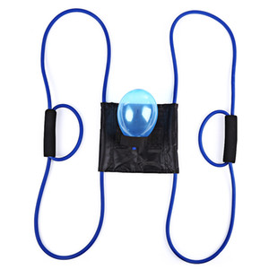 New High quality Handy Rope Muscle Developer Puller Resistance Bands Water Ball Launcher Summer Water Sports Tools with Balloons +B