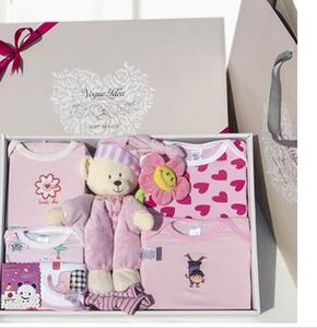 8PCS / set Cotton Baby Boy neonato Set di vestiti Outfit T-709 Soft neonato abbigliamento regali di Natale